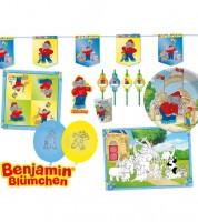 """Partyset """"Benjamin Blümchen"""" für 8 Personen"""