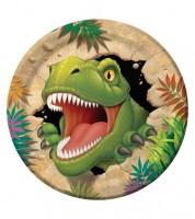 """Pappteller """"Dinosaurier"""" - 8 Stück"""