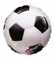 "Runder Folienballon ""Fußball"" - 43 cm"