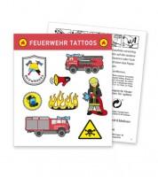"""Tattoos """"Feuerwehr"""" - 8 Motive"""