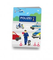 """Kleines Mal- und Rätselheft """"Polizei"""""""