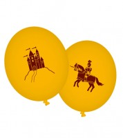 """Luftballons """"Ritter und Drache"""" - 8 Stück"""