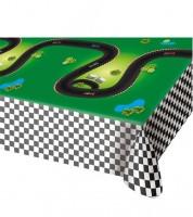 """Kunststoff-Tischdecke """"Rennstrecke"""" - 130 x 180 cm"""