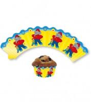 """Cupcake-Wrapper """"Benjamin Blümchen"""" - 12 Stück"""