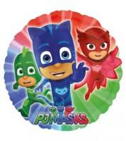 "Runder Folienballon ""PJ Masks - Pyjamahelden"""