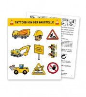 "Tattoos ""Baustelle"" - 8 Motive"