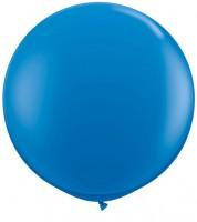 Riesiger Rundballon - dunkelblau - 90 cm