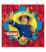 """Servietten """"Feuerwehrmann Sam Einsatz"""" - 20 Stück"""