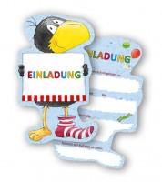 """Einladungskarten """"Der kleine Rabe Socke"""" - 6 Stück"""