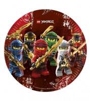 "Pappteller ""Lego Ninjago"" - 8 Stück"