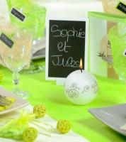 Tischläufer aus Vlies - hellgrün - 30 cm x 10 m