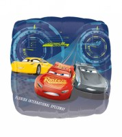 "Eckiger Folienballon ""Cars 3"" - Lightning McQueen"