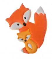 Ausstechform Fuchspaar Frieda & Filu - 9,5 cm