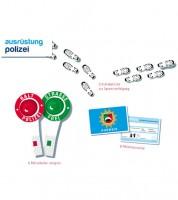 Polizei-Ausrüstungs-Set für 6 Kinder