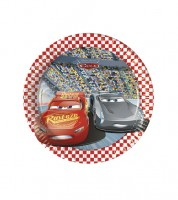 """Kleine Pappteller """"Cars 3 - Evolution"""" - 8 Stück"""