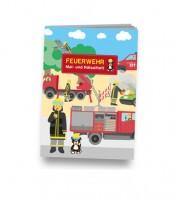 """Kleines Mal- und Rätselheft """"Feuerwehr"""""""