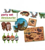 "Party-Set ""Dinos"" für 8 Personen"