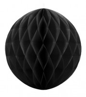 Wabenball - 30 cm - schwarz