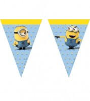 "Wimpelgirlande ""Lovely Minions"" - 2,3 m"
