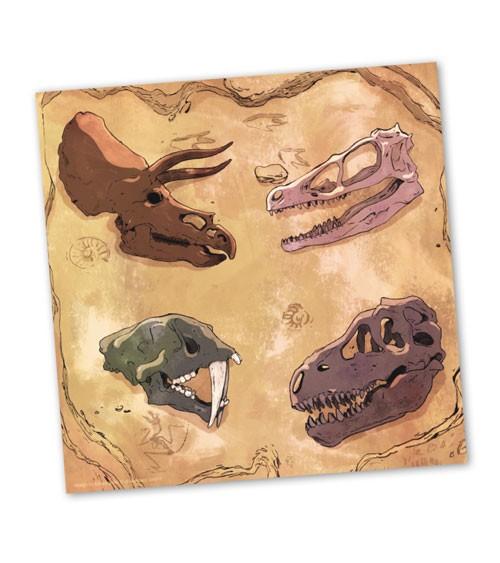 """Servietten """"Dinos"""" - 20 Stück"""