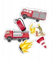 """XXL-Konfetti """"Feuerwehreinsatz"""" - 24 Stück"""