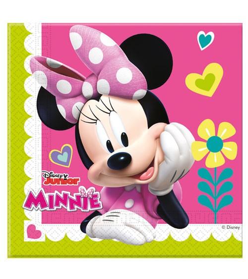 """Servietten """"Minnie Happy Helpers"""" - 20 Stück"""