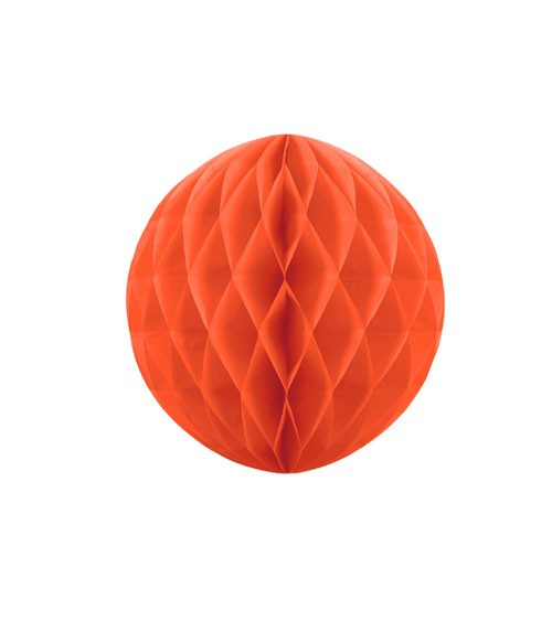 Wabenball - 10 cm - orange
