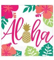 """Servietten """"Aloha Hawaii"""" - 16 Stück"""