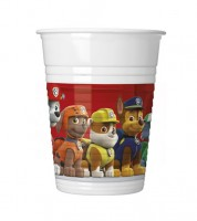 "Plastikbecher ""Paw Patrol - Ready for Action"" - 8 Stück"