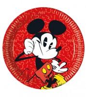"Pappteller ""Mickey Mouse Comic"" - 8 Stück"