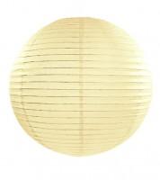 Papierlampion - ivory - 35 cm
