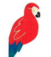 """Shape-Servietten """"Roter Papagei"""" - 16 Stück"""