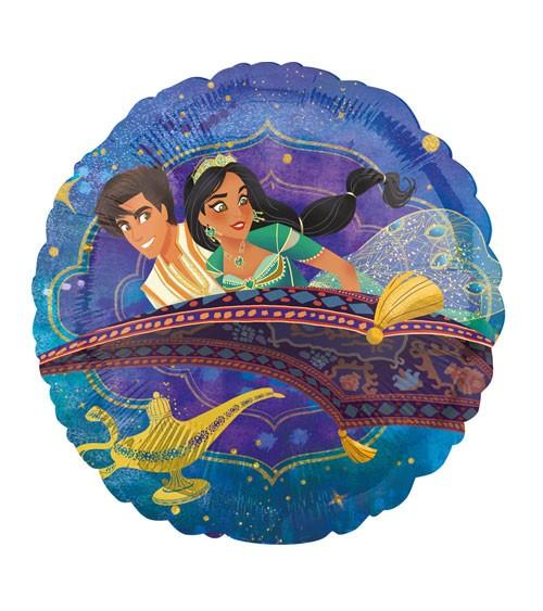 "Runder Folienballon ""Aladdin"" - 43 cm"