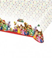 """Kunststoff-Tischdecke """"Nintendo Super Mario"""" - 120 x 180 cm"""