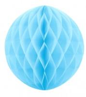 Wabenball - 30 cm - skyblue