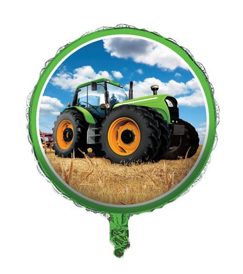 """Runder Folienballon """"Traktor"""""""