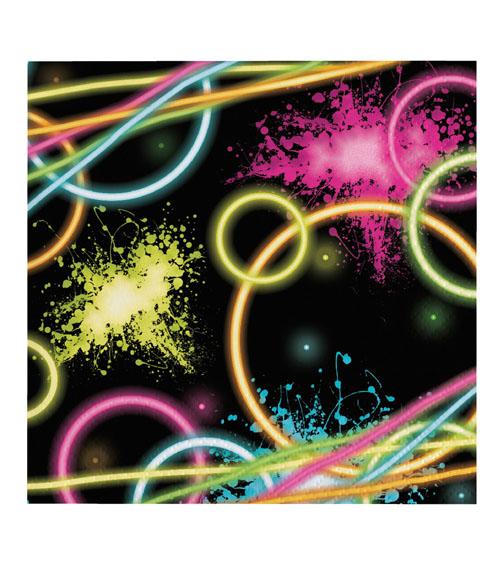 Neon party deko im stil der 90er jahre - 90er jahre deko ...