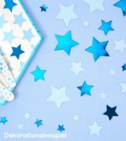 "Tisch-Streuteile ""Little Star Blue"" - 100 Stück"