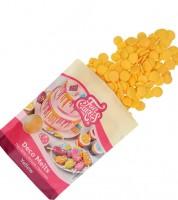 Funcakes Deco-Melts - gelb - 250 g