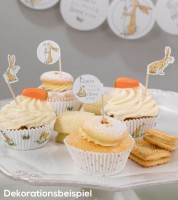 "Cupcake-Picks ""Guess how much I love you"" - 20 Stück"