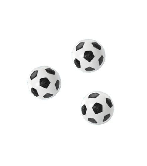 "Streuteile ""Fußball"" - 15 mm - 3 Stück"