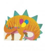 "Shape-Servietten ""Party Dinos"" - 16 Stück"