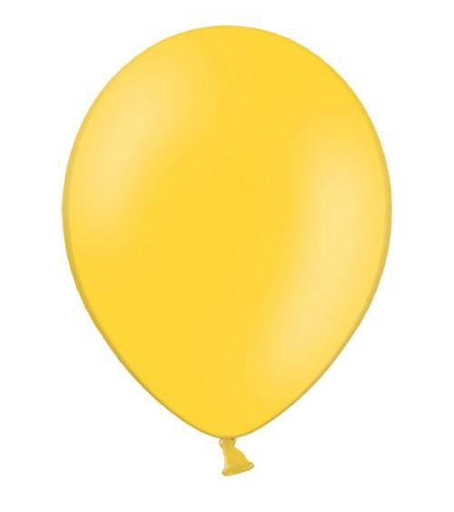 Standard-Luftballons - honiggelb - 50 Stück