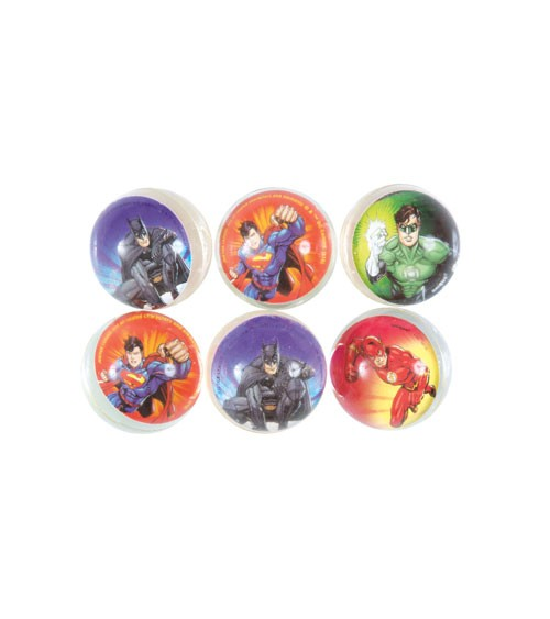 "Bounce Balls ""Justice League"" - 6 Stück"