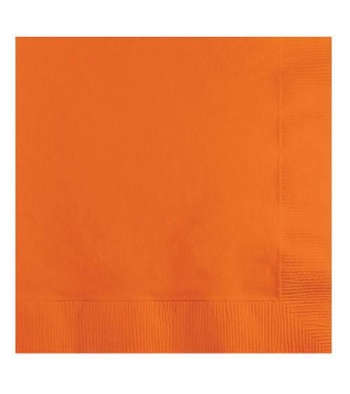 Servietten - orange - 50 Stück