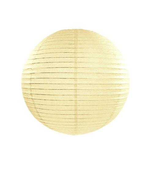 Papierlampion - ivory - 25 cm