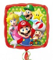 """Eckiger Folienballon """"Nintendo Super Mario"""""""
