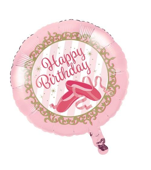 """Runder Folienballon """"Prima Ballerina"""""""