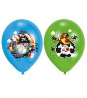 """Luftballon-Set """"Kleiner Pirat"""" - bunt - 6-teilig"""