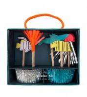 """Cupcake-Kit """"Under the Sea"""" - 48-teilig"""